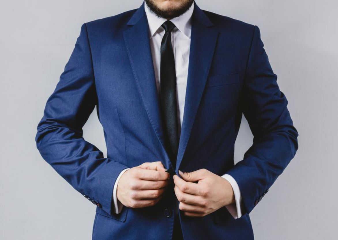 Blauw pak